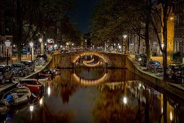 Nacht über Amsterdam sur Sabine Wagner