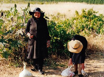 Oude Portugese vrouwen. van Ineke de Rijk