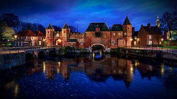 Koppelpoort Amersfoort golden hour von Michael van der Burg