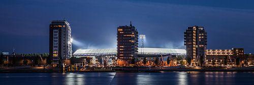Feyenoord stadion 21 van John Ouwens