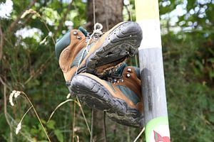 walking boots van