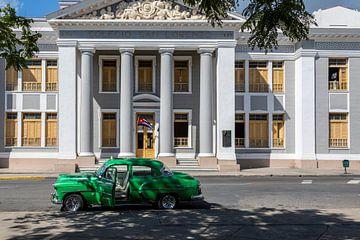 Grüner Chevrolet in Kuba von Tilo Grellmann | Photography