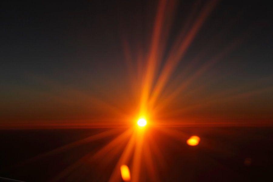 Zonsondergang van Ronald Jansen