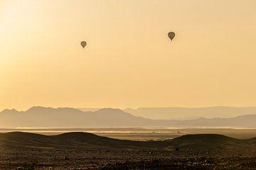 Ballonvlucht over Dune 45 van