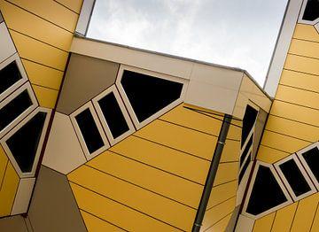Cube-Häuser in Rotterdam von Moniek van Rijbroek