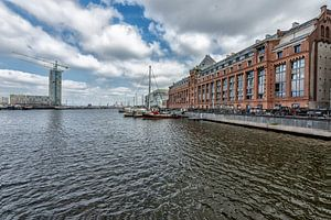 Silodam Amsterdam sur