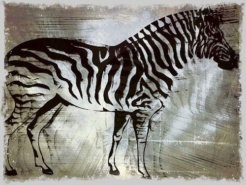 Zebrapaard Zilveren Beauty