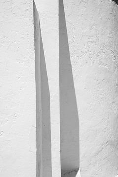 weiße Wand von Jan Fritz