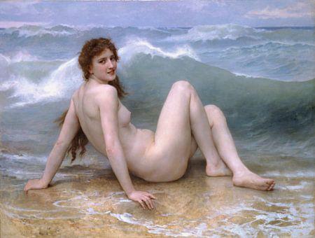 William Adolphe Bouguereau. The Wave