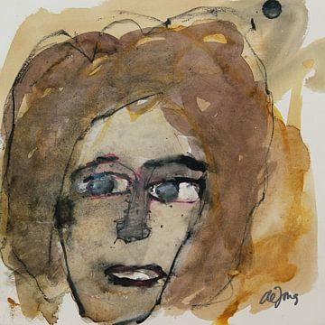 Juliana, portret, avatar von Leo de Jong