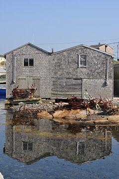 Village de pêcheurs de Peggys Cove sur Tjeerd Langstraat