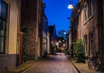 Lege straat in Zwolle van Michel Knikker