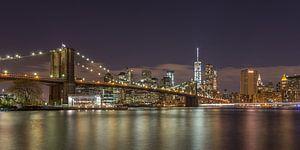 New York Skyline - Brooklyn Bridge (2)