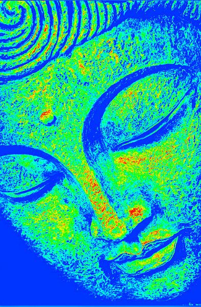 Buddha Thermal September 2020 von Michael Ladenthin