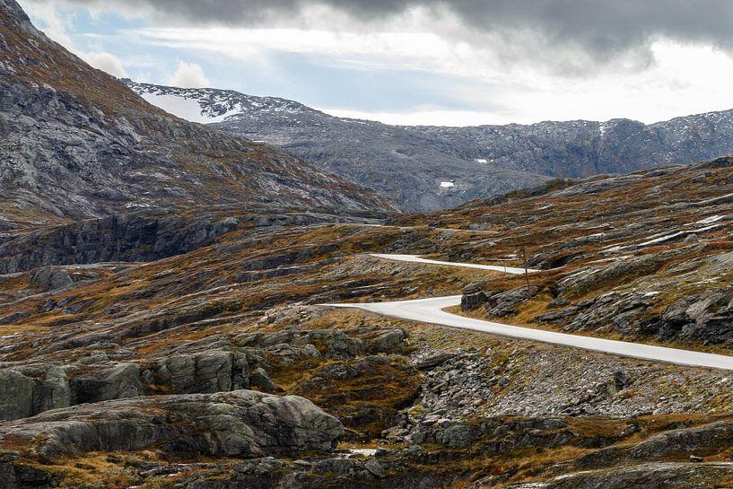 Weg door Noorwegen van Menno Schaefer