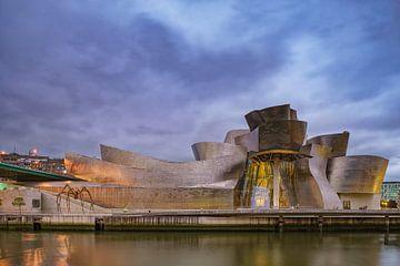 Guggenheim museum Bilboa 2 von Ronald Tilleman