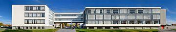 Bauhaus Dessau Panorama von Panorama Streetline