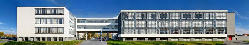 Bauhaus Dessau Panorama van Panorama Streetline