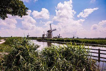 Windmolens op de Kinderdijk van Brian Morgan