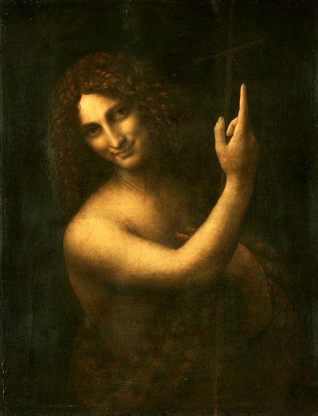 Der heilige Johannes der Täufer, Leonardo da Vinci von Meesterlijcke Meesters