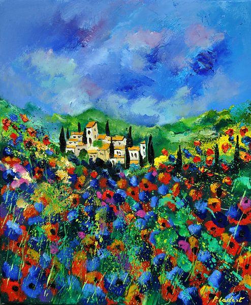 Provence en klaprozen van pol ledent