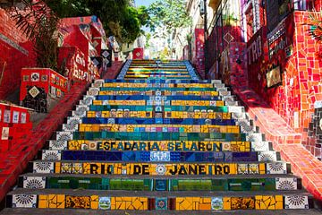 Escadaria Selarón, Rio de Janeiro von Martijn Mureau
