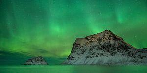 Aurora Borealis at Vik Beach