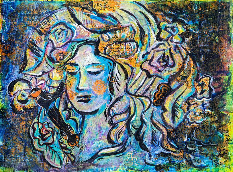 Gesicht des Frühlings von Ariadna de Raadt-Goldberg