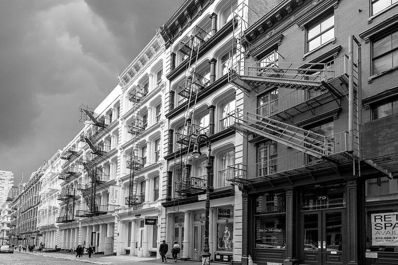 Gusseisenarchitektur in Soho  New York van Kurt Krause