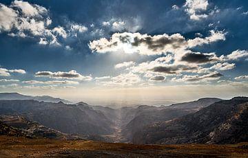 Zonverlichte vallei von Peter Postmus