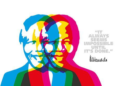 Nelson Mandela Quote van