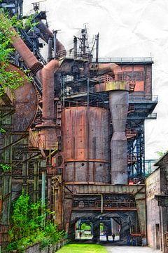 Industrie 1.0 van Edgar Schermaul