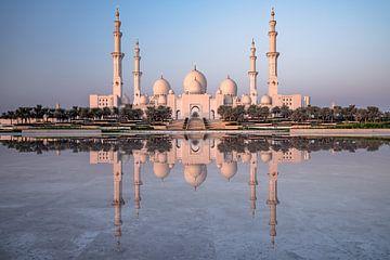 Sjeik Zayed Grote Moskee Abu Dhabi van Achim Thomae