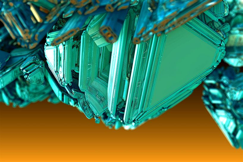 Fractal kristal van Frank Heinz