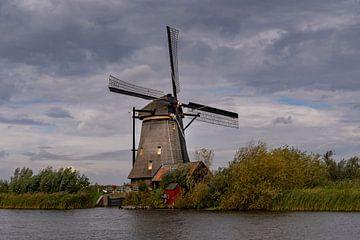 Mühle am Wasser von Lieke van Grinsven van Aarle