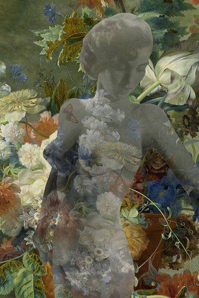 Blühender Akt von Timeview Vintage Images