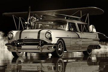 Pontiac Safari Station Wagons Surfer Edition