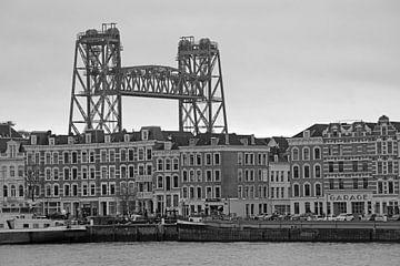 De Hef und neues Netz auf der Nordinsel in Rotterdam von Remco Swiers