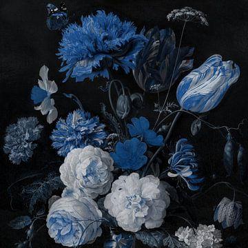 Still Life - Delft Blue sur Marja van den Hurk