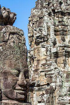 Buddha in Stein verewigt