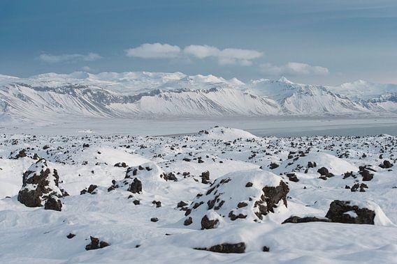 IJslands winterlandschap
