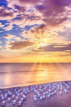 OSTSEE zonsopgang op het strand van Melanie Viola