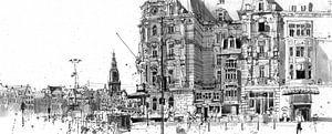 Victoria Hotel, Amsterdam van Christiaan T. Afman