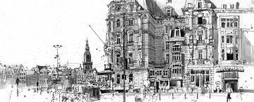 Victoria Hotel, Amsterdam von Christiaan T. Afman