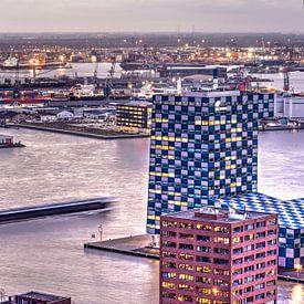 Rotterdam, navigation et transport sur Frans Blok