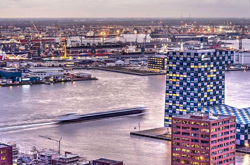 Rotterdam, scheepvaart en transport van Frans Blok