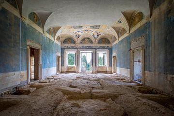 verlaten italiaanse villa van Kristof Ven