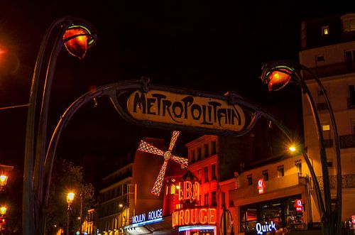 Metropolitain Moulin Rouge van Jaco Verheul