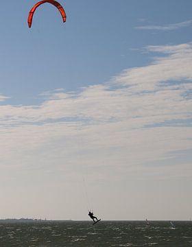 Kitesurf jump van