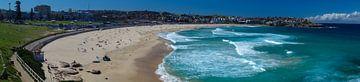 Panorama Bondi Beach-Sydney von Tessa Louwerens